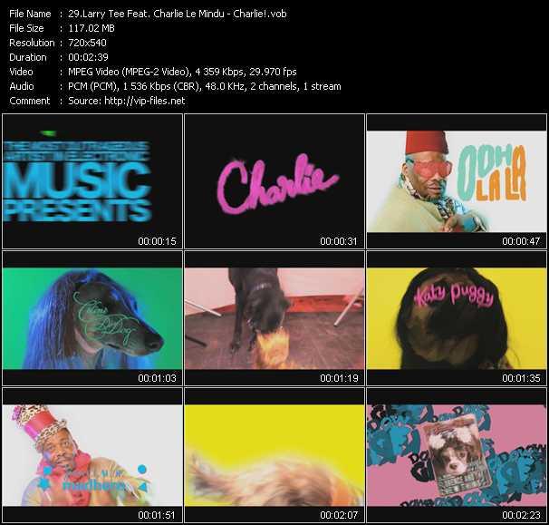Larry Tee Feat. Charlie Le Mindu - Charlie!