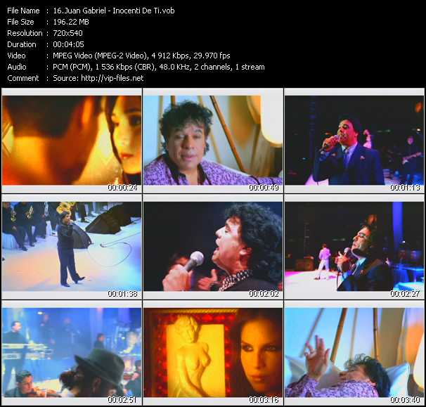Juan Gabriel - Inocente De Ti